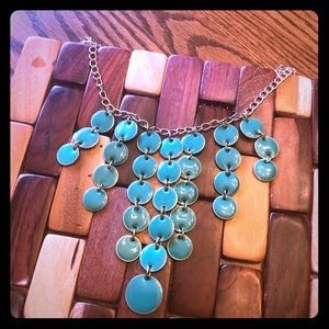 Charming Charlie's green/emerald color necklace